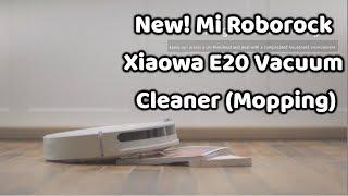 NEW! Xiaomi Roborock Xiaowa Vacuum Cleaner E20 (With Mopping)