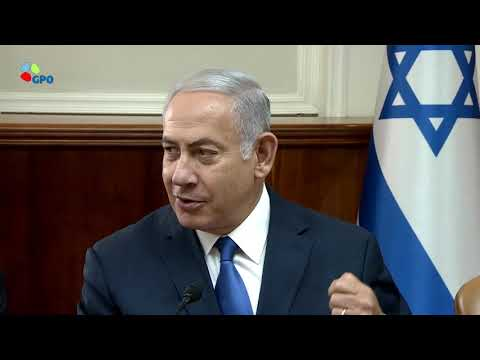 PM Netanyahu's Remarks at Weekly Cabinet Meeting - 5/9/2018