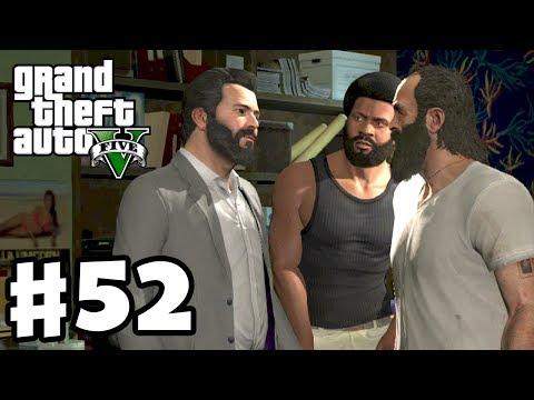 Grand Theft Auto 5 - Gameplay Walkthrough Part 52 - The Big Score Setup (GTA 5, XBox 360, PS3)