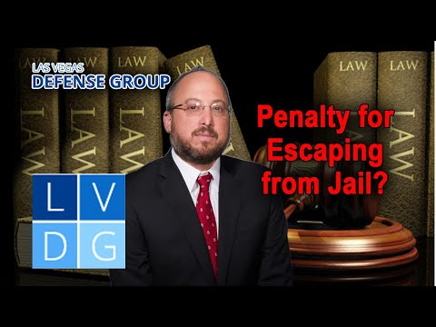 What is the penalty for escaping from jail in Nevada?