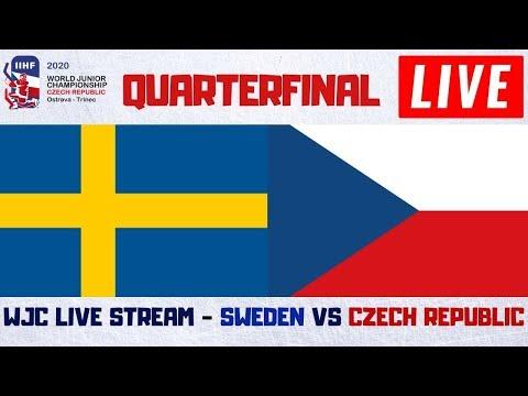 Sweden Vs Czech Republic World Juniors QuarterFinals Live Stream | IIHF WJC 2020 Hockey Play By Play