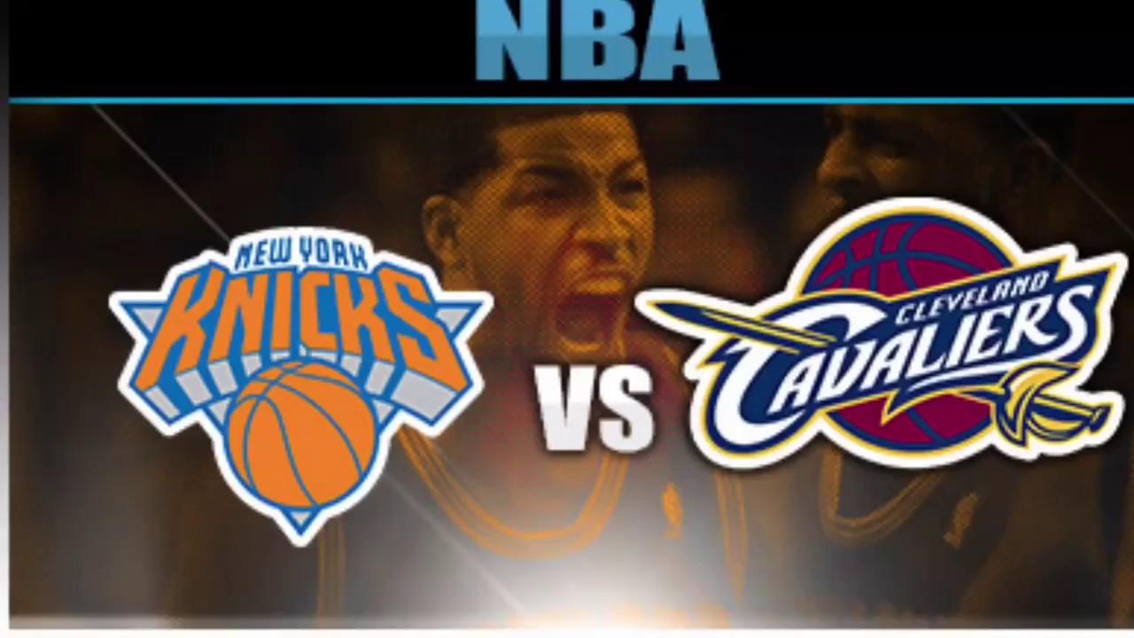 """Kết quả hình ảnh cho Cleveland Cavaliers vs New York Knicks"""""""