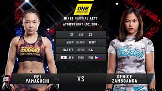 Denice Zamboanga vs. Mei Yamaguchi | Full Fight Replay