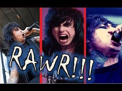 Ronnie Radke screams