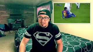 Las 10 peores faltas a Messi reacción!!! (The 10 Worst Tackles on Lionel Messi)  ESPAÑOL