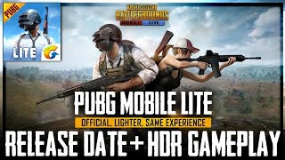 PUBG MOBILE LITE RELEASE DATE+HD GAMEPLAY! PUBG MOBILE LITE•FUTURE GAMING