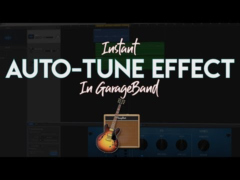 Instant Auto-Tune In GarageBand (3 Clicks!)