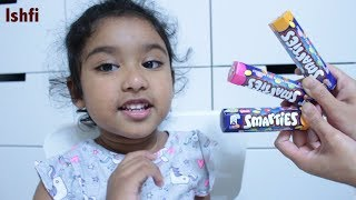 Ishfi 's Color Song with Smarties