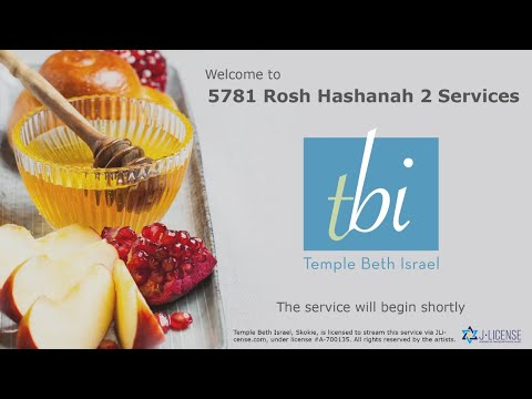 2nd Day Rosh Hashanah Services