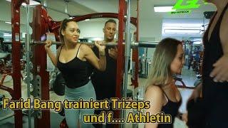 Farid Bang trainiert Trizeps und f.... Athletin