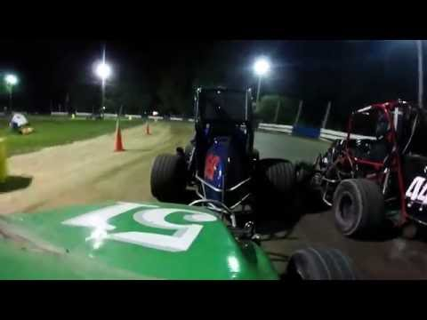 Ninja Feature Race at Starlite Speedway June 3 2016 Secound Twin Twenty Feature