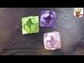 简单折纸 植物 荷花