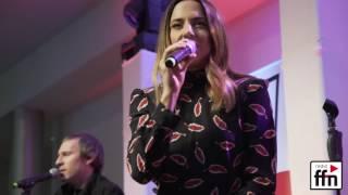 100 Fans haben Melanie C am 16. Februar 2017 im ffn-Funkhaus in Han...