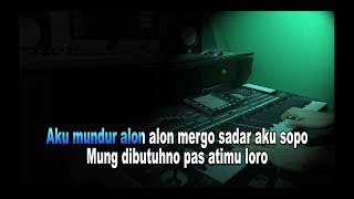 Download lagu Karaoke Mundur Alon Alon Dangdut Koplo Tanpa Vokal Cover Keyboard