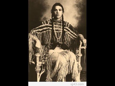 Белые индейцы - старые фото