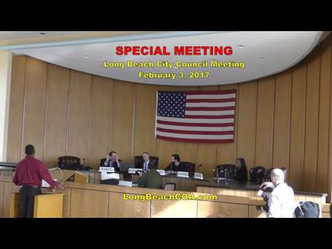 Special City Council Meeting 02/03/17 - Special Meeting