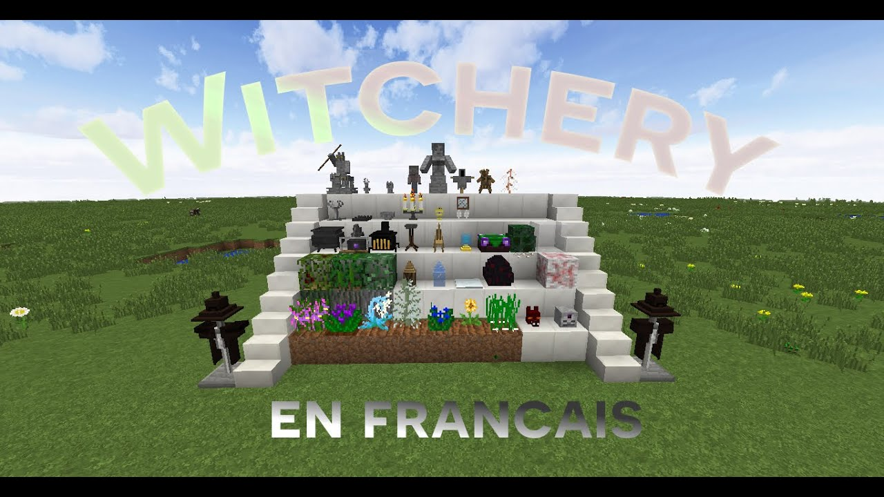 witchery en fran ais tuto minecraft modd 1 youtube. Black Bedroom Furniture Sets. Home Design Ideas
