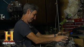 American Pickers: Mike is Too Smart to Pass up a Knucklehead Engine (S18, E24)   History thumbnail