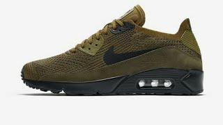 pasajero Espere Aire acondicionado  Nike Air Max 90 Ultra 2.0 Flyknit (green) - YouTube