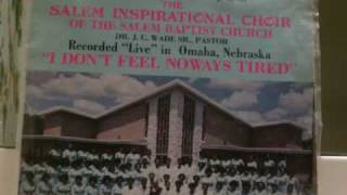 James Cleveland & The Salem Inspirational Choir: I Dont Feel noways Tired Part 2