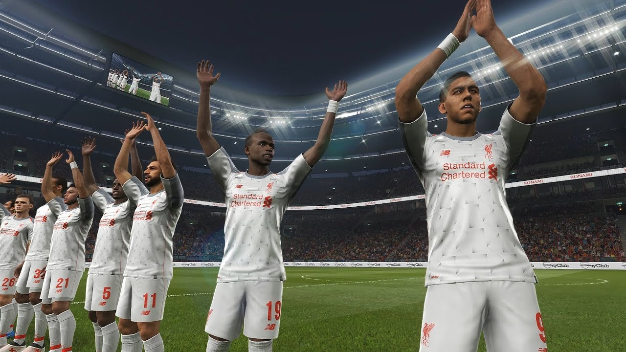 d1a754a7342 Liverpool's new third kit revealed: Exclusive PES footage. Liverpool FC