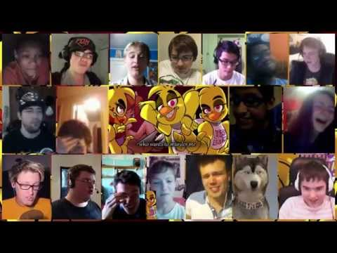 """""""Chica"""" Song By Mandopony Reaction Mashup"""