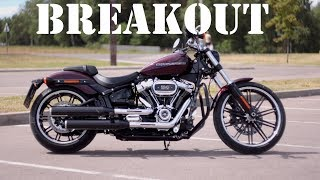 На смену V-Rod?! Harley Davidson Breakout #МОТОЗОНА №41