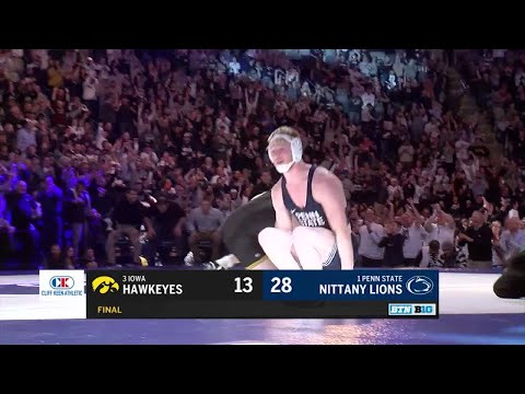 Iowa at Penn State - Wrestling Highlights
