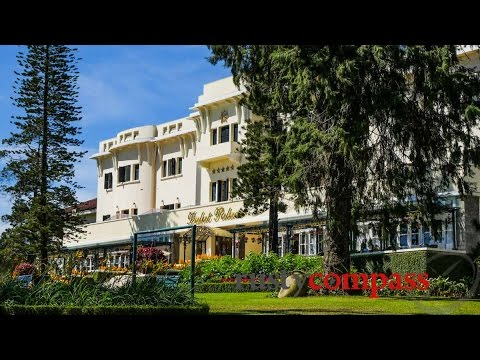 More concrete, less green space - Dalat Palace renovations, Vietnam