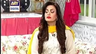 Good Morning Pakistan Host Nida Yasir ARY Digital 17th March 2016 Part 5