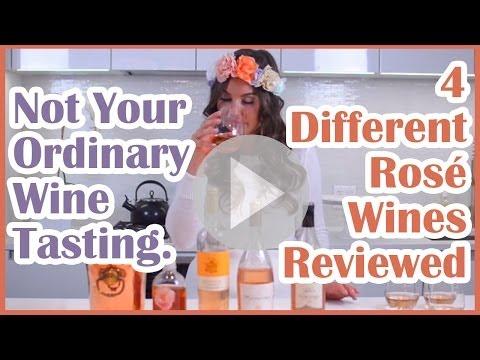 Summer Wines - Rosé Wine Tasting Review   Taylor Strecker