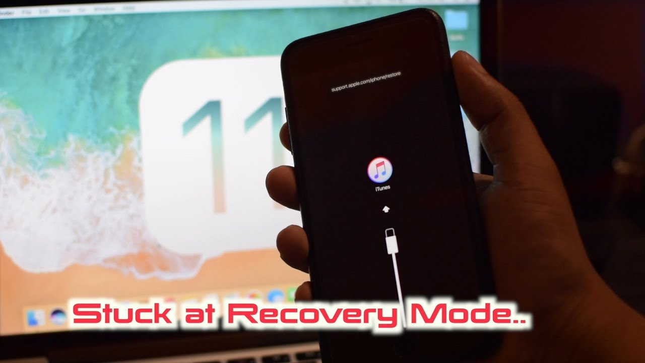Fix iPhone stuck at Recovery Mode / iTunes Logo on iOS 11/10 - ReiBoot  Review