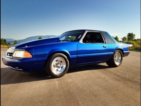 Turbo 331 88mm 6 Speed 93 Mustang In-Car Track and Street Vids