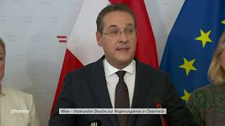 Statement von Heinz-Christian Strache am 18.05.19