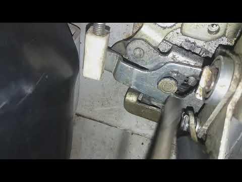 Как открыть дверь ваз 2110 сломан механизм