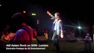 Atif Aslam Concert songs Rock on 2009 London live concert