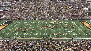 """American Movie Musicals"" - Hawkeye Marching Band Halftime Show / Homecoming, October 19, 2019"