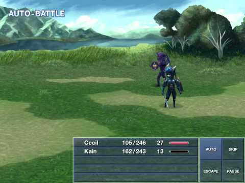 Final Fantasy IV HD Gameplay part 2 (iPhone,iPod,iPad)