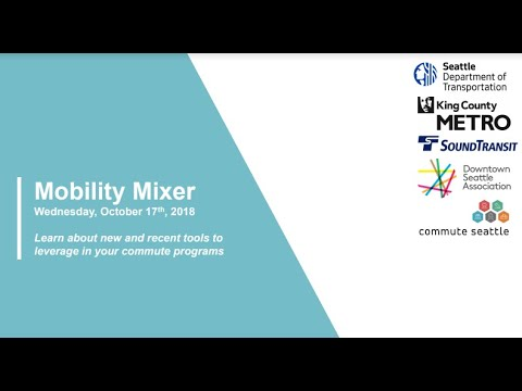 Mobility Mixer: Networking, Industry Insights, and MORE!