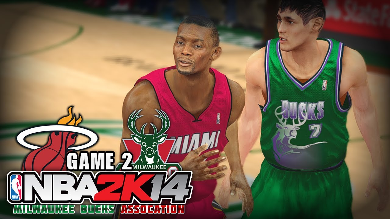 Heat Vs Bucks Image: NBA 2K14 Milwaukee Bucks Association