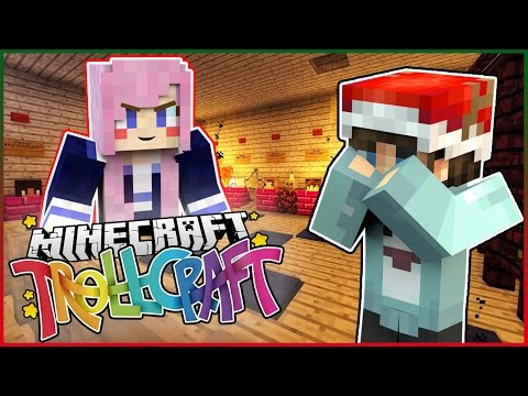 LIZZIES WEIRD BASEMENT!? - Minecraft TrollCraft - Ep.8