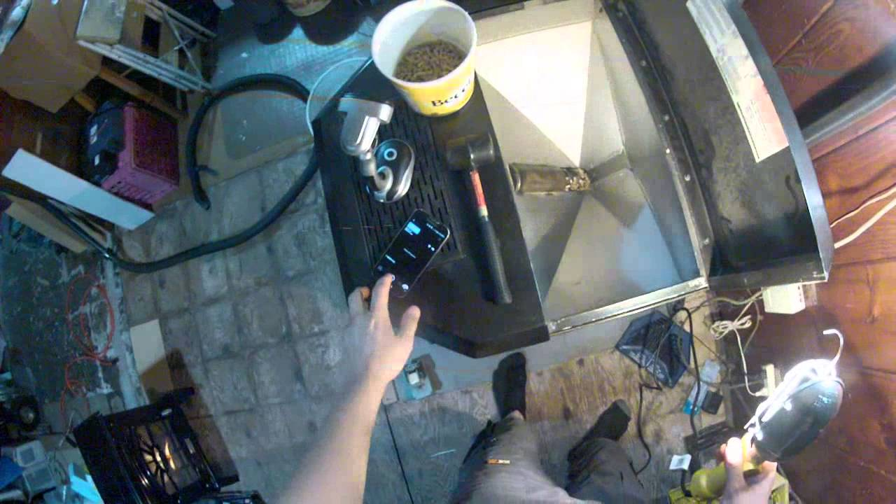How To Pov Pulling The Auger Apart And Lubing Bushings On Whitfield Pellet Stove Youtube
