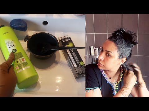 COLORATION CHEVEUX PROFESSIONNELLE A LA MAISON/كيف تصبغين شعرك كالمحترفين في البيت