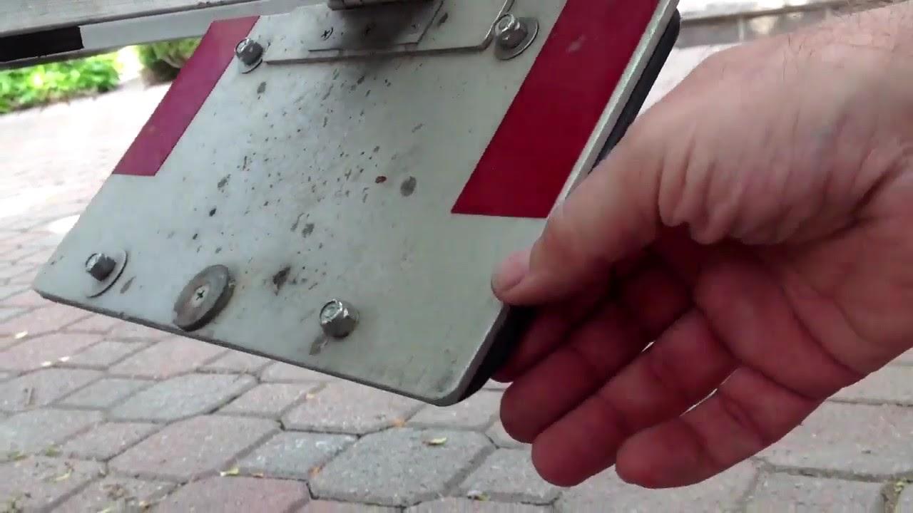 Triton Elite Pwc Trailer Flip Up License Plate Holder
