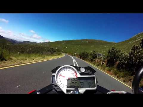 BMW S1000R - Franschoek Pass