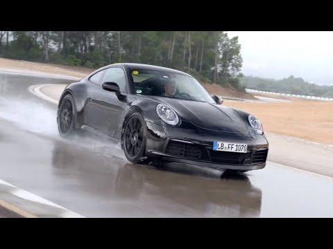 2020 Porsche 911 (992) – Testing Wet Handling Circuit