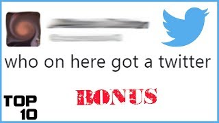 Top 10 Dumbest Tweets - Part 41 - Behind The Scenes (Bloopers, Q&A)