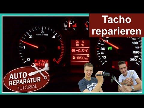 Defekten Tacho reparieren | AUDI VW etc. Magneti Marelli Jaeger Schrittmotor | ✖️Auto Tutorial