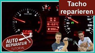 TACHO REPARIEREN | defekt | Magneti Marelli Jaeger Schrittmotor Audi A3 A4 A6 TT