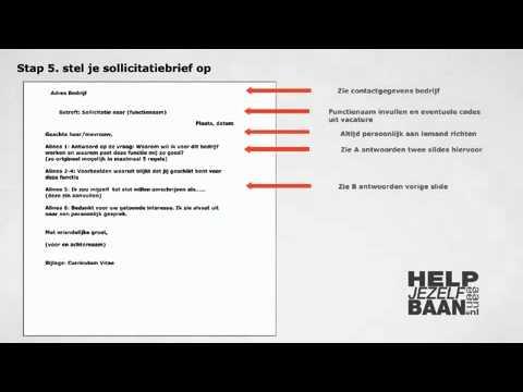 hoe stel je een motivatiebrief op Sollicitatie Brief Bekijk Hier De Sollicitatiebrief Van Anke